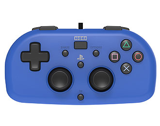 Lightweight, sensitive, light pressure HORI PS4 mini controller