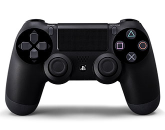 Lightweight, sensitive, light pressure PS4 controller.