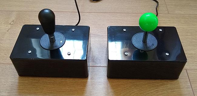 Bat top and green ball top Ultrastik.