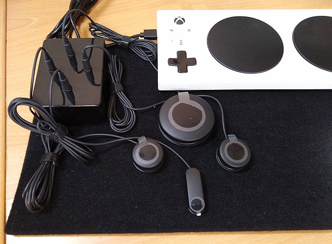 Xbox Adaptive Controller Switch Joystick Box for accessible gaming
