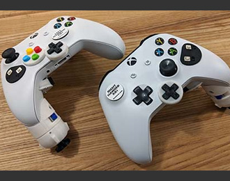 Ben Heck one handed Xbox controller, heavily modified.