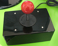 PC UltraStik. Analogue joystick with four switch sockets.