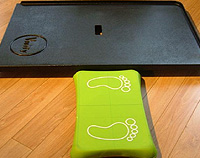 Vivify Floor Board. Wii-Fit for wheelchair users.
