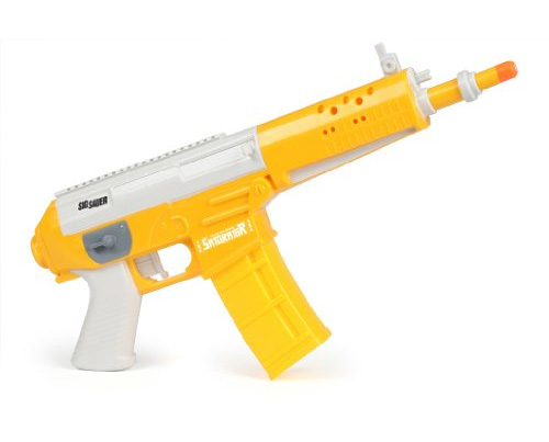 Switch Adapted Saturator STR70 Water Pistol (bright yellow and white).