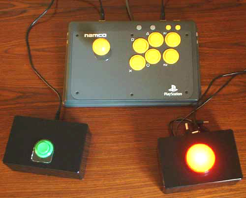 Switch Adapted Namco Arcade Stick.