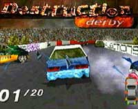 Destruction Derby (PSOne & PS2).