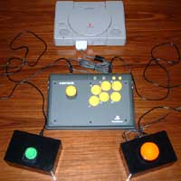 2000 - Adapted Namco Arcade Stick for accessible gaming