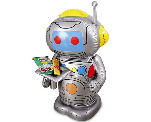 Adapted Blo-Bot Radio Controlled Robot.