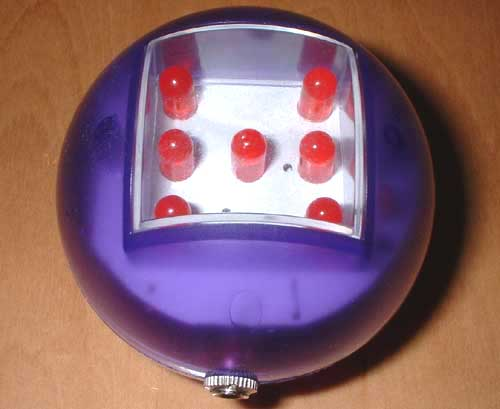 Electro Dice. Large bright display with sound. Easy to daisy chain - roll 2 or more dice at once. Dice colours vary.