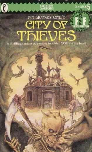 Fighting Fantasy gamebook: The City of Thieves