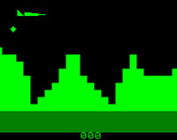 Air Attack - Commodore Pet game.