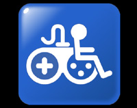Game Accessibility Information Symbol (aka The Joypad Rider).