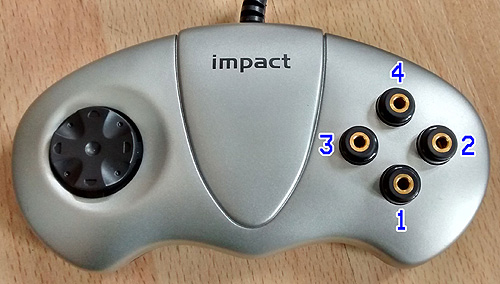 Impact Joypad switch adapted