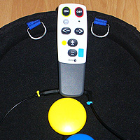 7. Testing: Switch adapted Doro 321rc remote control.