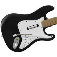 Image of Harmonix Rock Band Guitar.