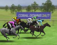 virtual horse racing results today