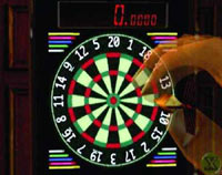 Shenmue Darts (c) Sega - Play darts with just one button, and it's still fun and a challenge.