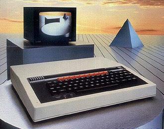 BBC Micro computer.